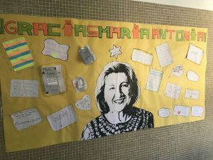 ¡Gracias por todo, Mª Antonia!