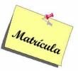 Matrícula curso 2015-16