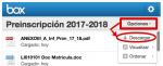 PREINSCRIPCIONES MATRÍCULA CURSO 2017/18
